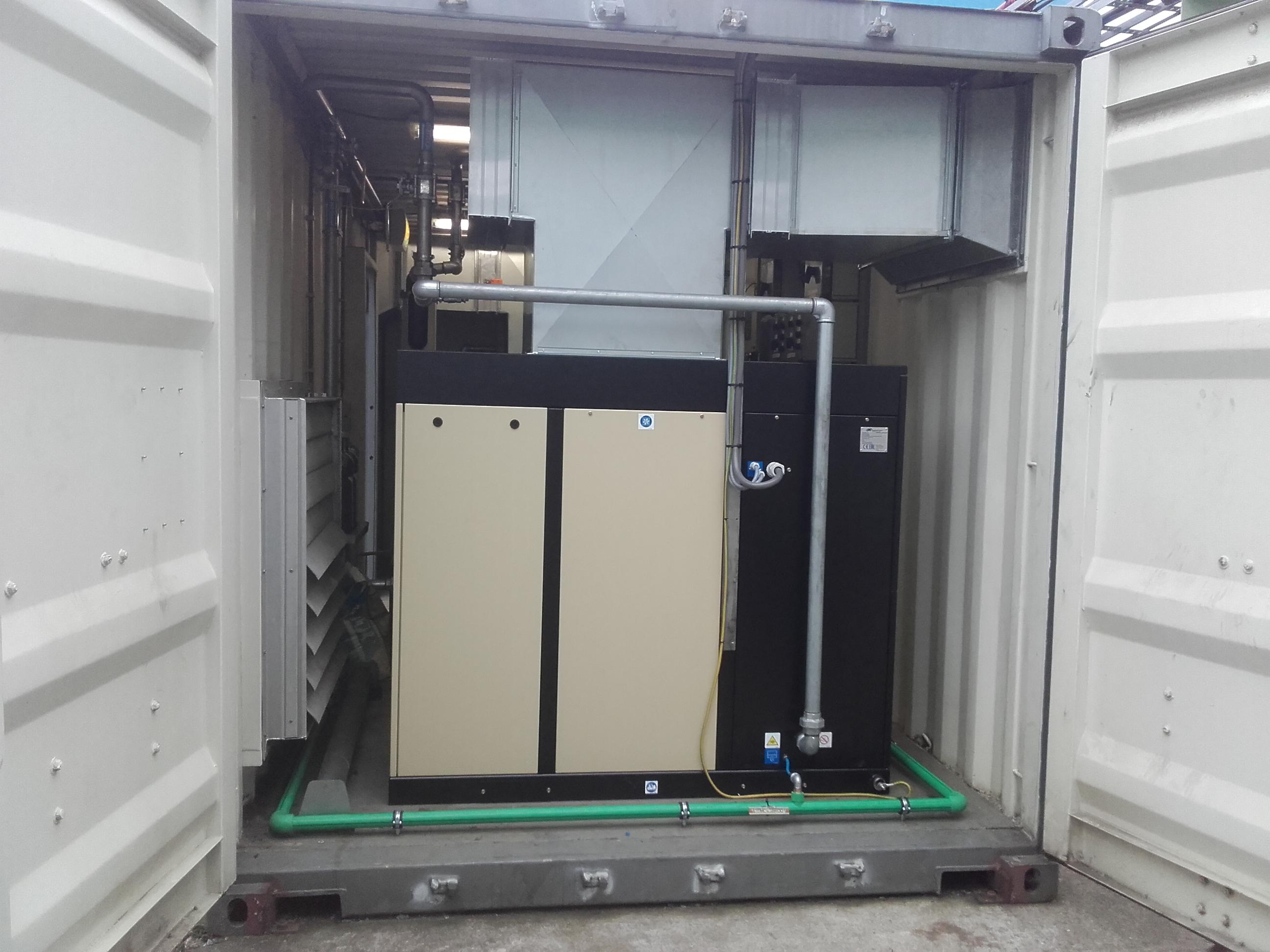 Persluchtinstallatie - T&E Techniek