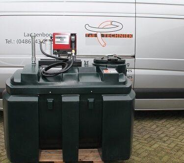 Tanks en diesel pompen
